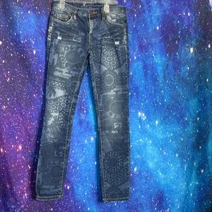 Blank NYC- Distressed Skinny Jeans size 25